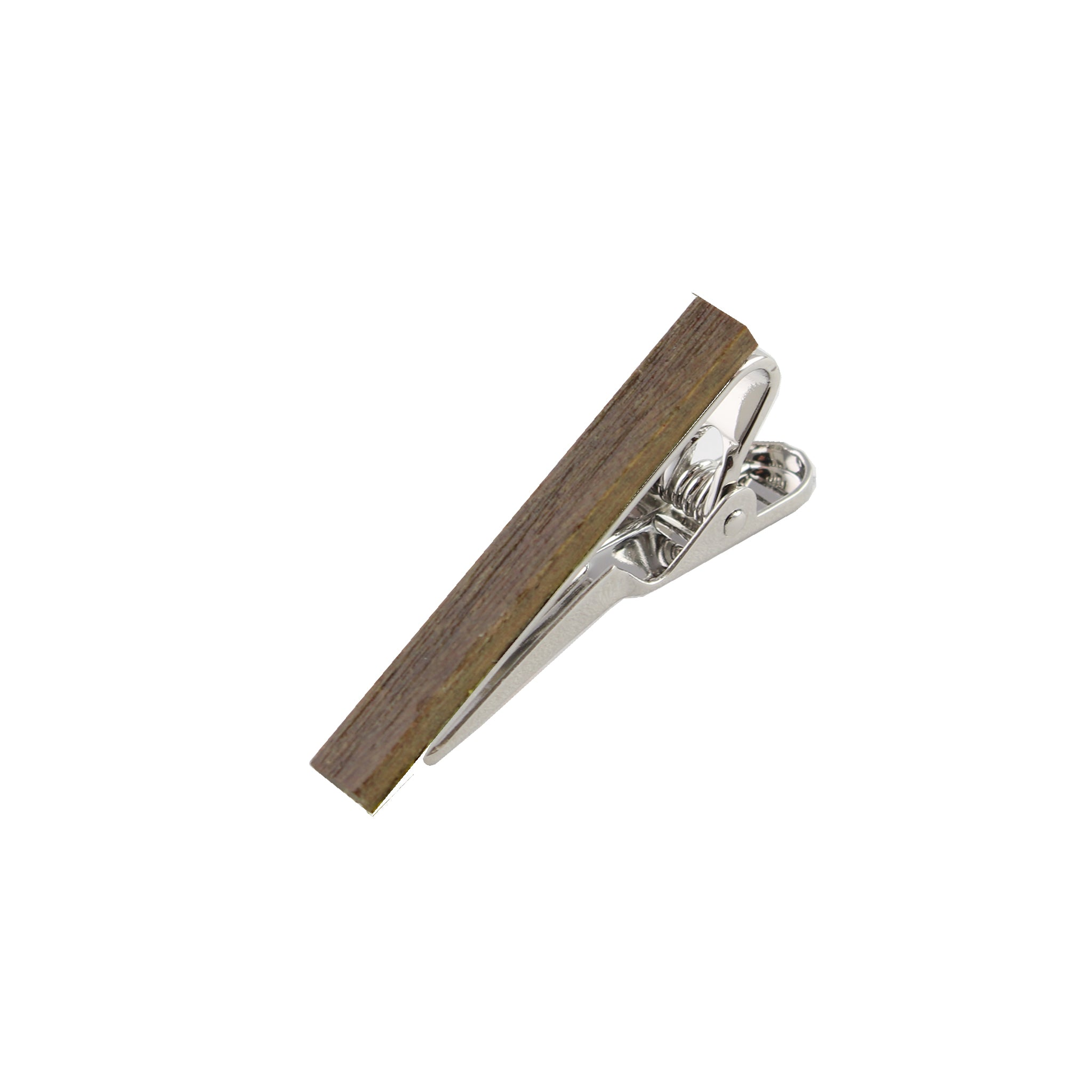 Palosantoes-Polished Wooden Tie Bar from DIBI