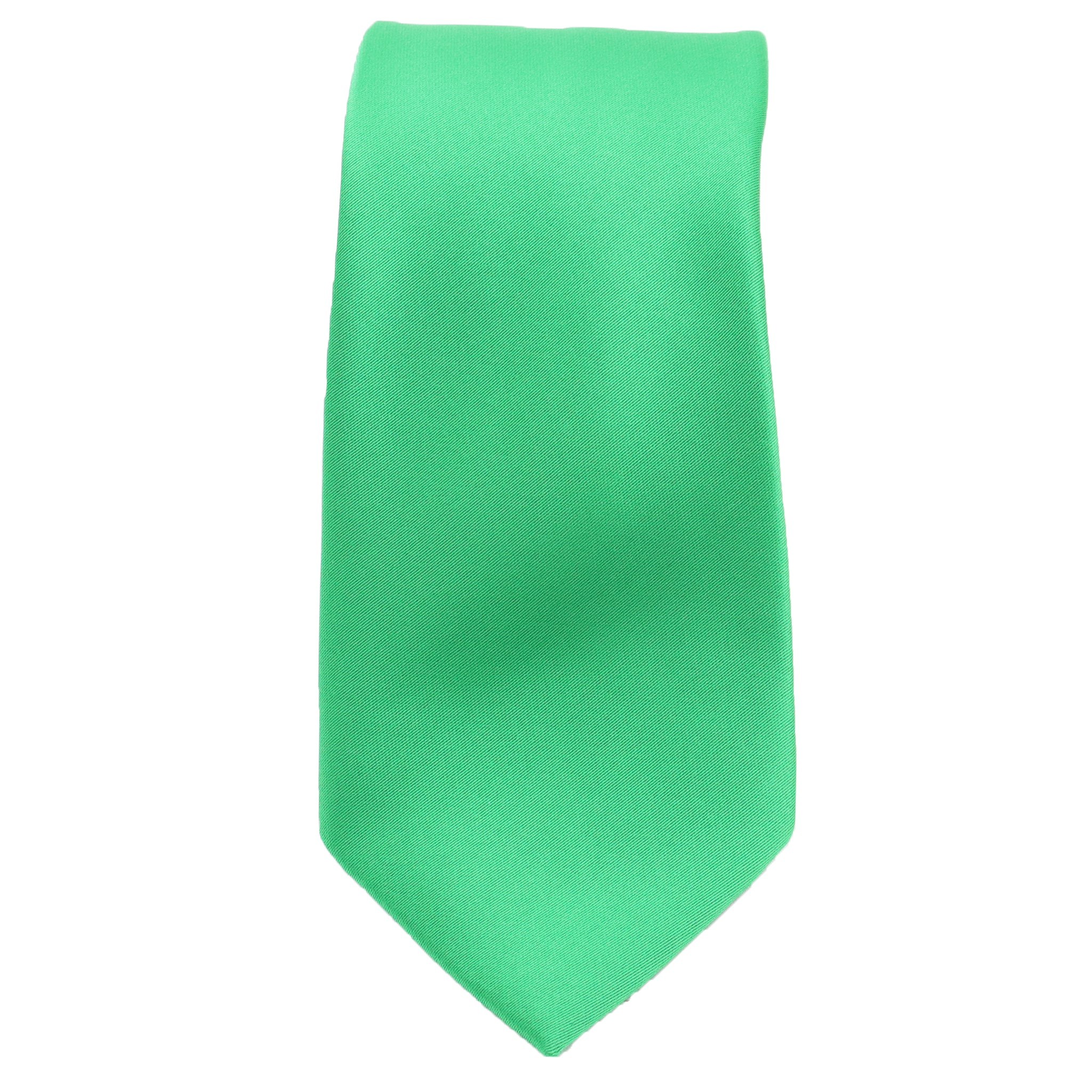 Emerald Green Satin Tie