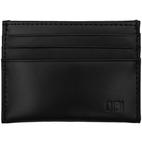 Black Slim Leather Wallet