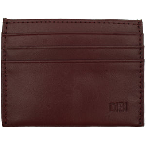 Burgundy Slim Leather Wallet