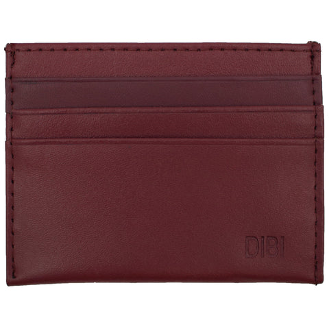 Plum Slim Leather Wallet