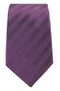 Purple Pattern Tie