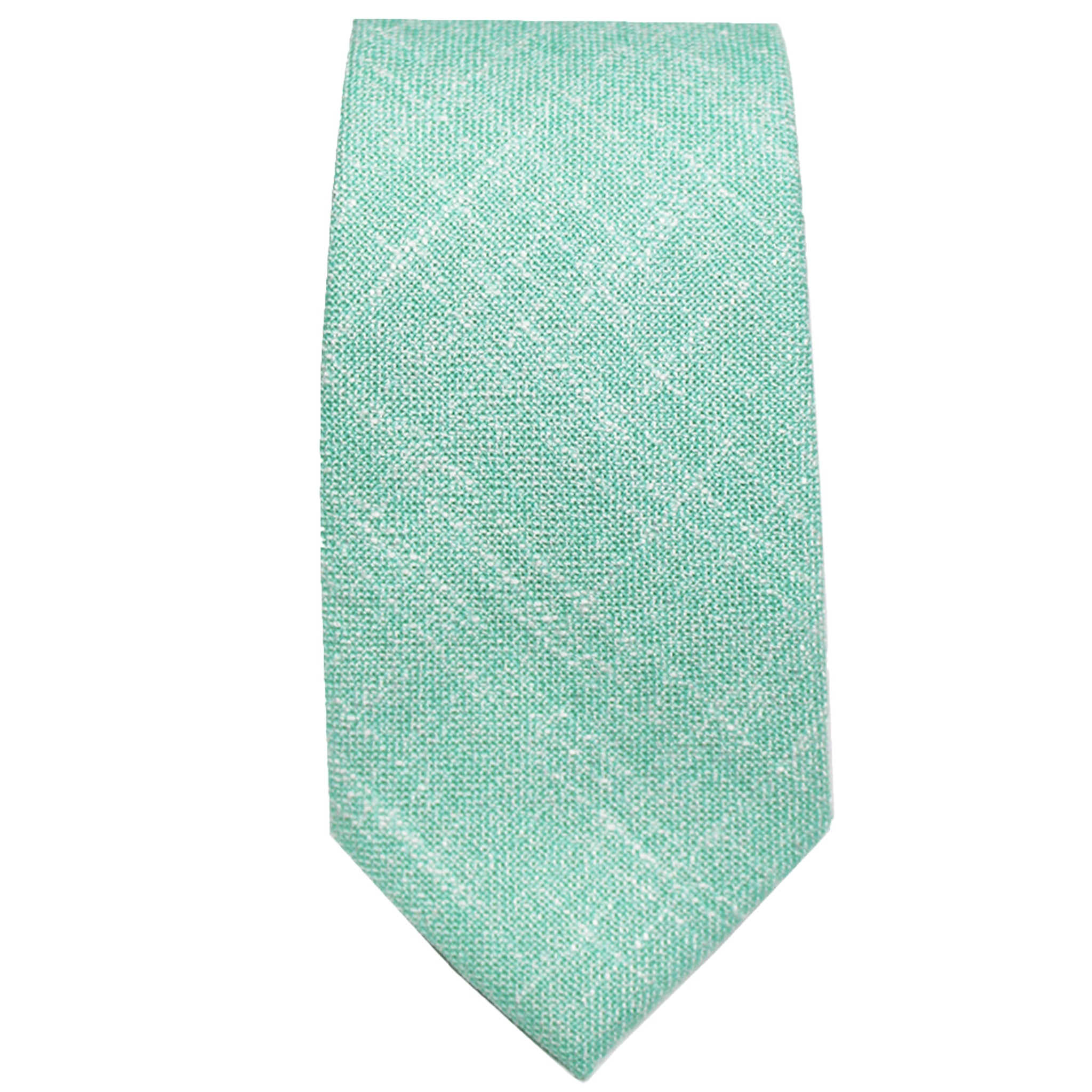 Heather Seafoam Green Tie