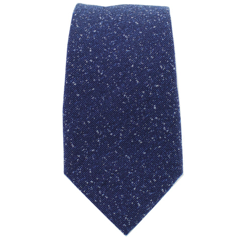 Navy Speck Tie from DIBI