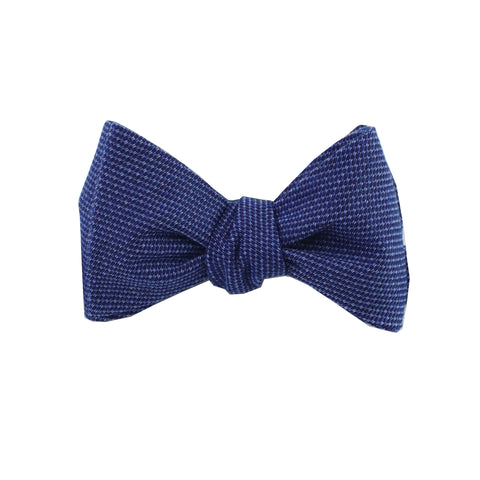 Atmospheric Blue Self Tie Bow Tie