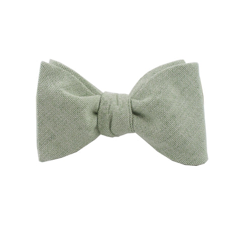 Burlap Sage Self Tie Bow Tie from DIBI