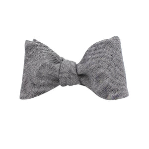 Black Cloud Self Tie Bow Tie from DIBI