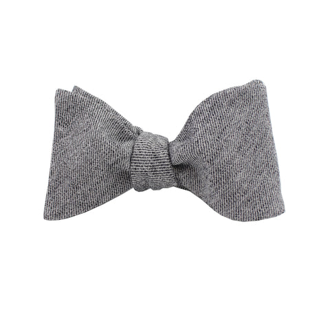 Black Cloud Self Tie Bow Tie
