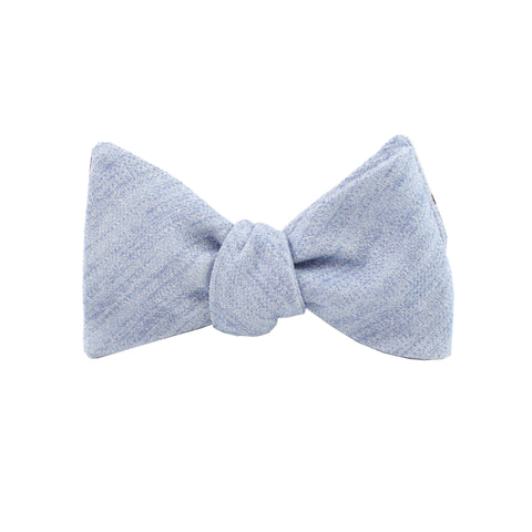 Blue Cloud Self Tie Bow Tie from DIBI