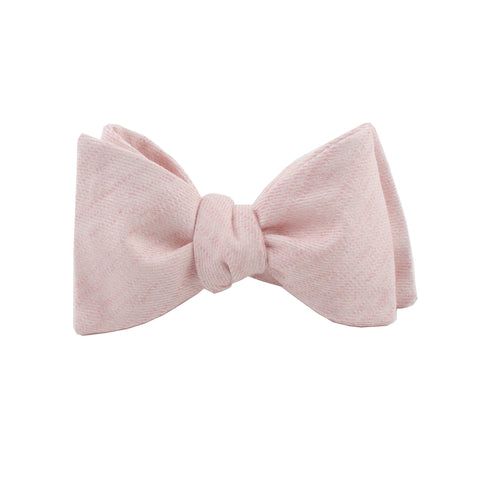 Blush Cloud Self Tie Bow Tie