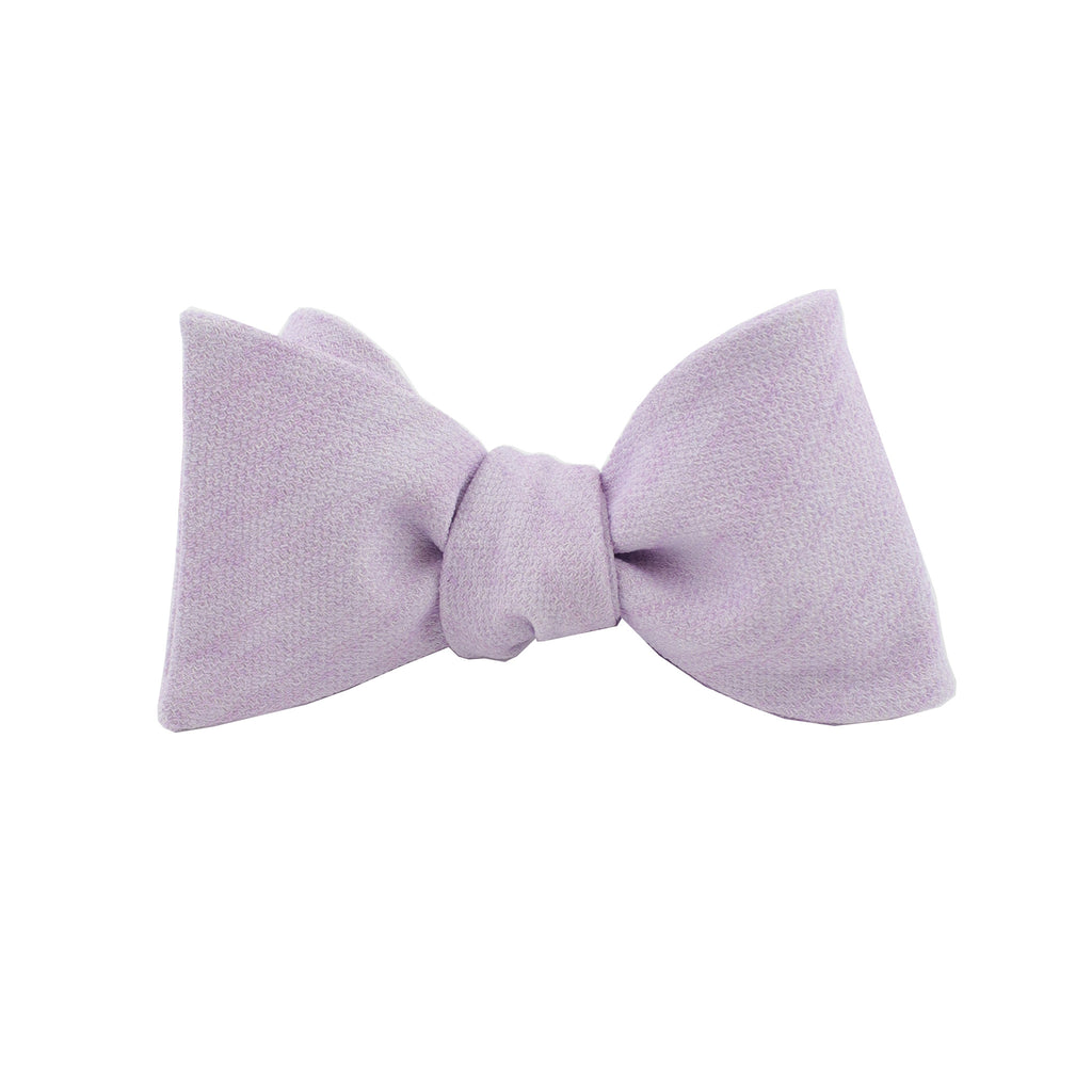 Lavender Cloud Self Tie Bow Tie from DIBI