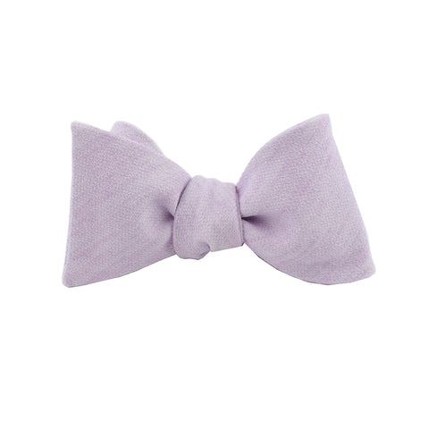 Lavender Cloud Self Tie Bow Tie