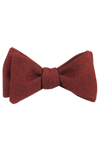 Rough Ruby Self Tie Bow Tie