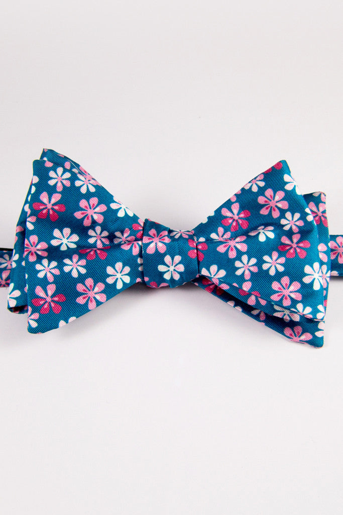 Flower Power Self-Tie Bow Tie