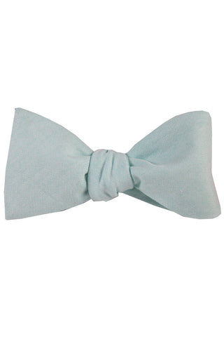 Light Mint Self Tie Bow Tie