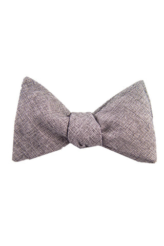 Heath Grey Self Tie Bow Tie