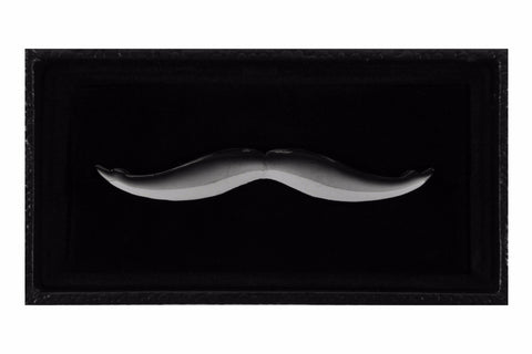 Gun Metal Black Stash Tie Clip