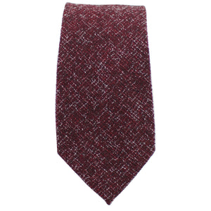 Burgundy Twill Tie from DIBI