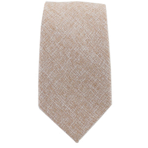 Khaki Twill Tie from DIBI