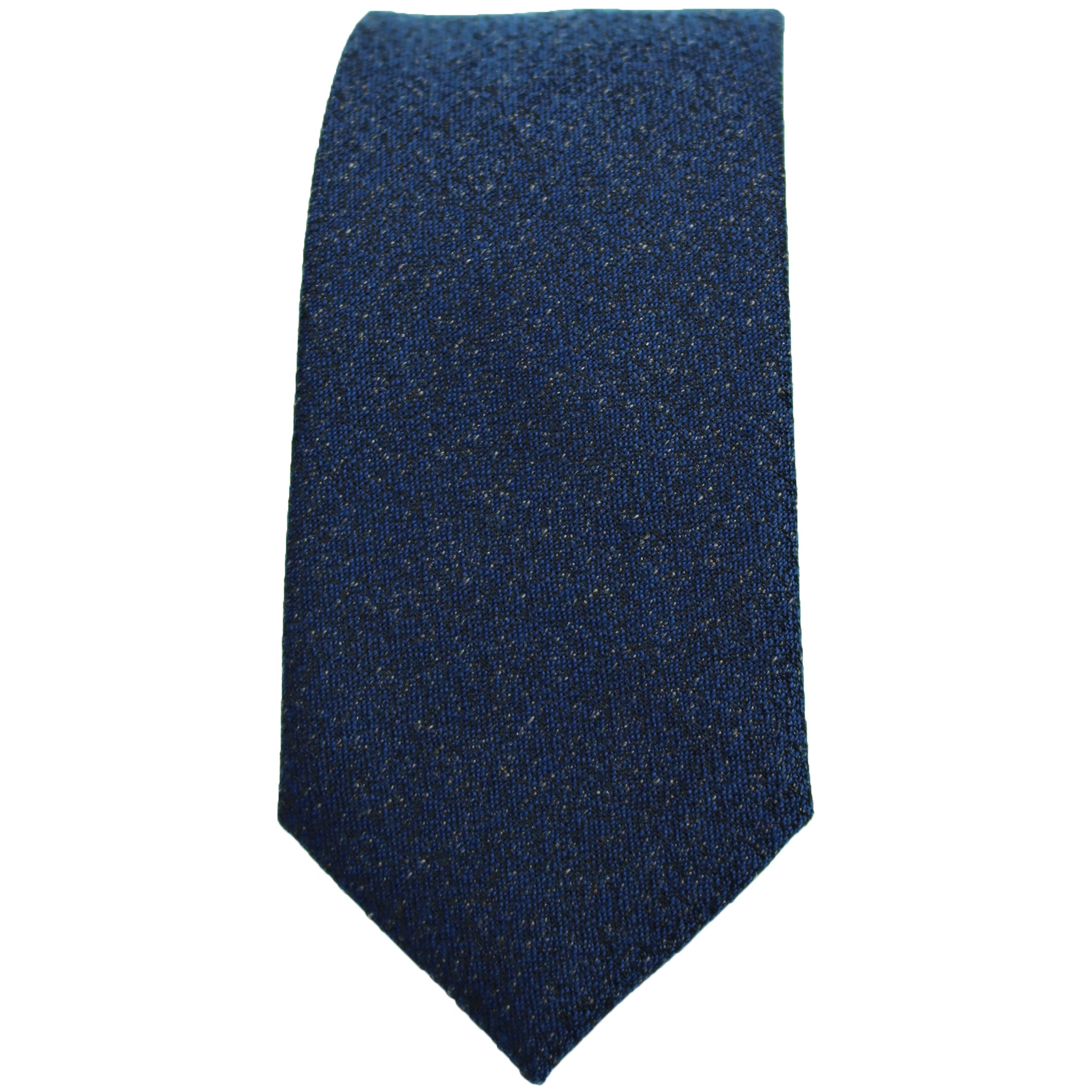 Dark Navy Textured Tie