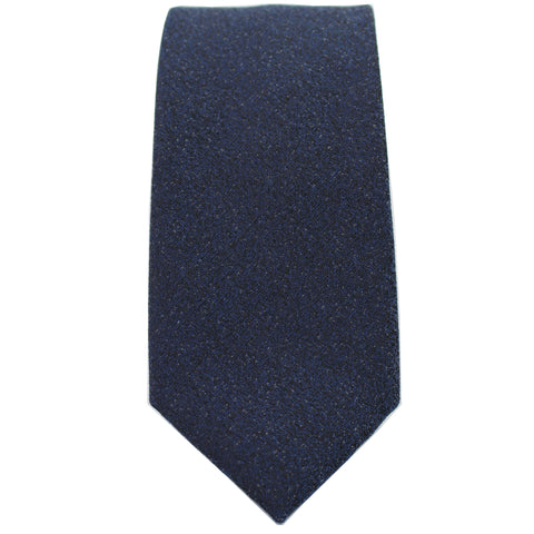 Dark Navy Textured Tie from DIBI