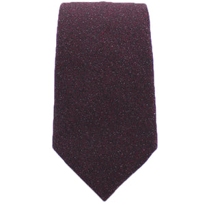 Burgundy Textured Tie from DIBI