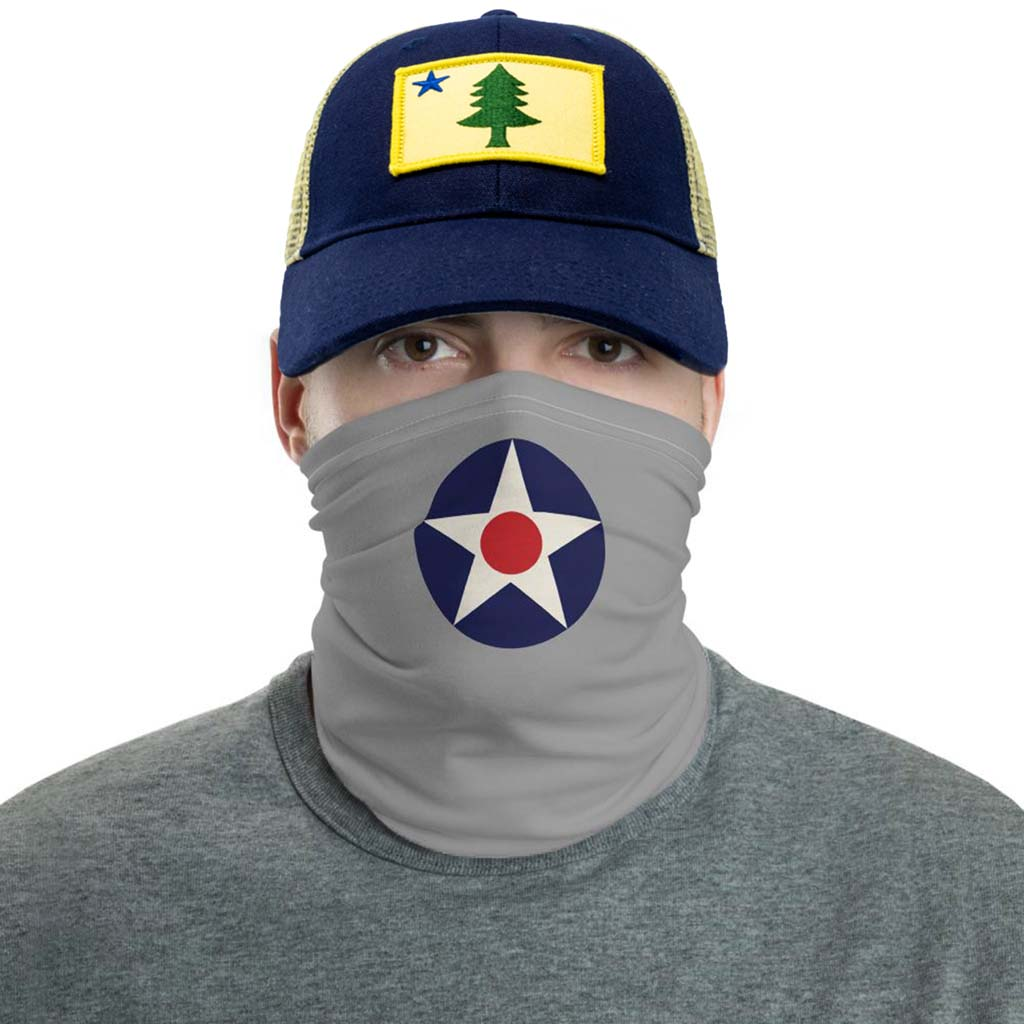 1917 US Roundel Face Mask Gaiter