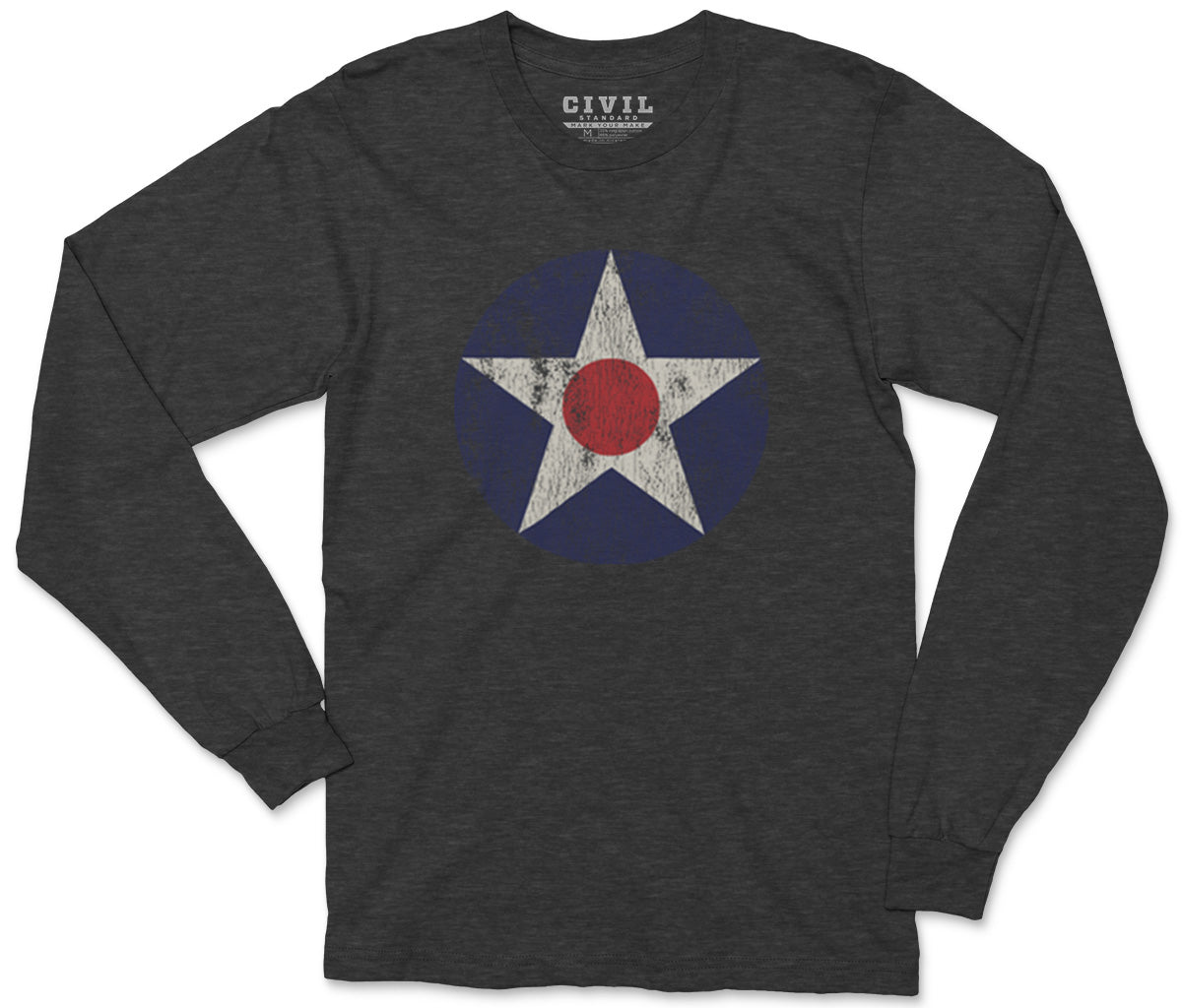 1917 US Roundel Long Sleeve Tee Shirt