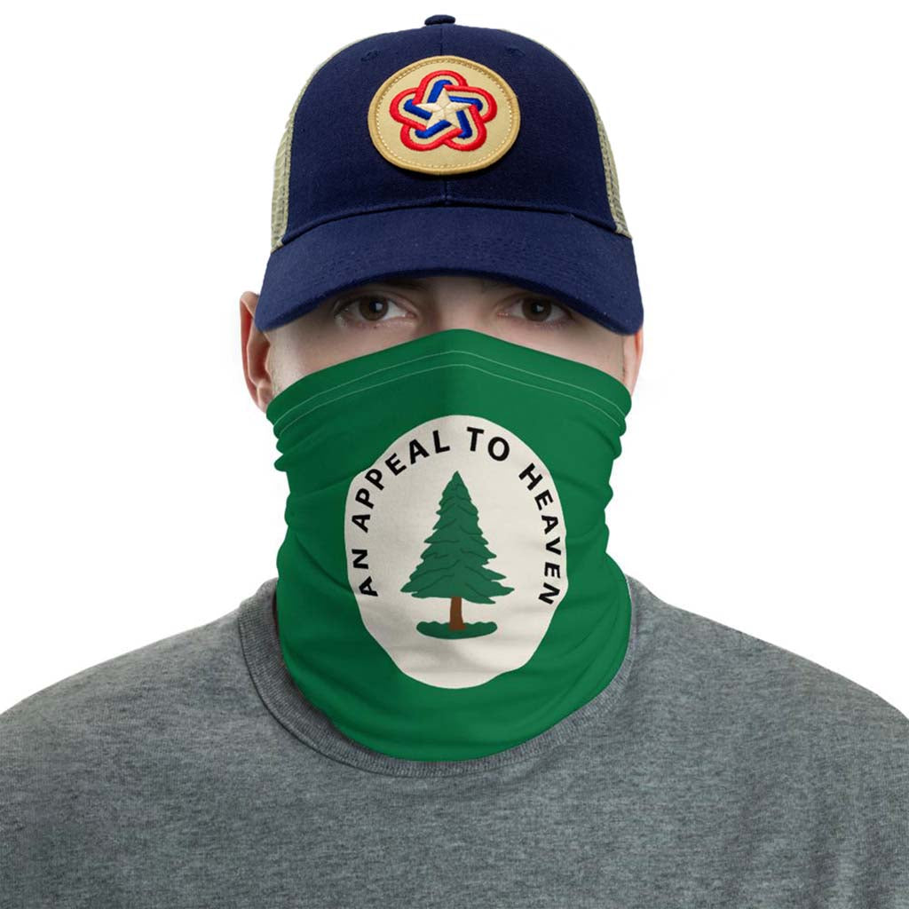 appeal to heaven face mask gaiter