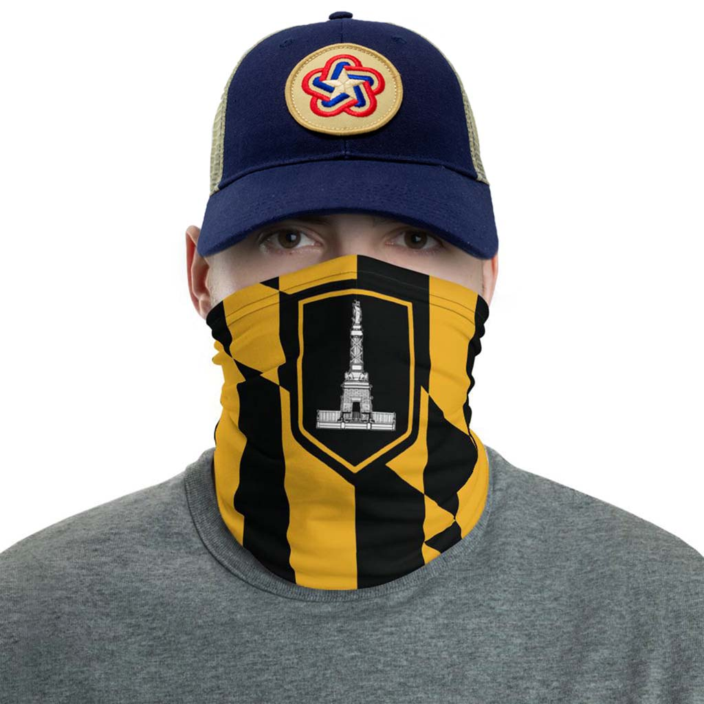 Baltimore Flag Face Mask gaiter