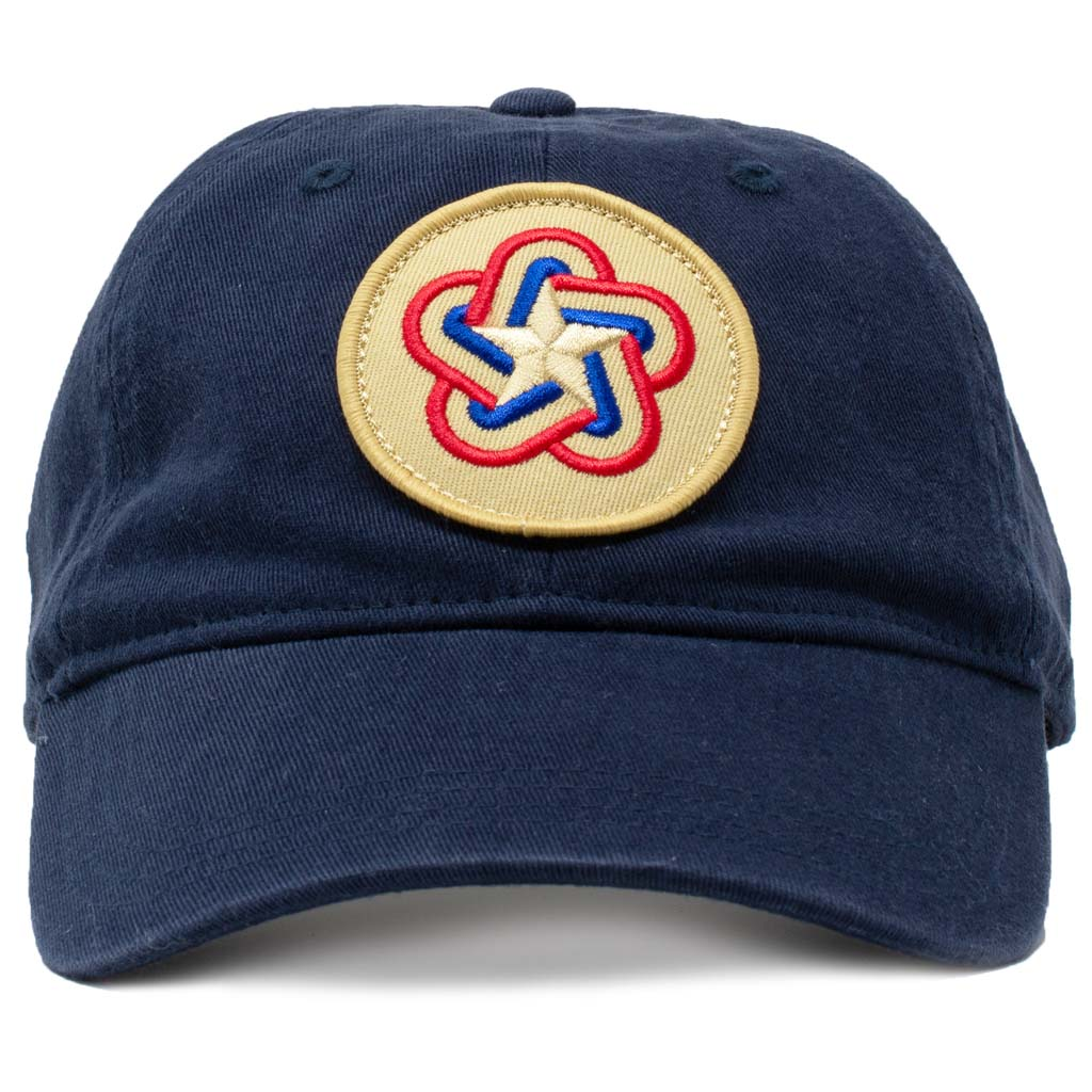 American revolution bicentennial logo flag cotton hat
