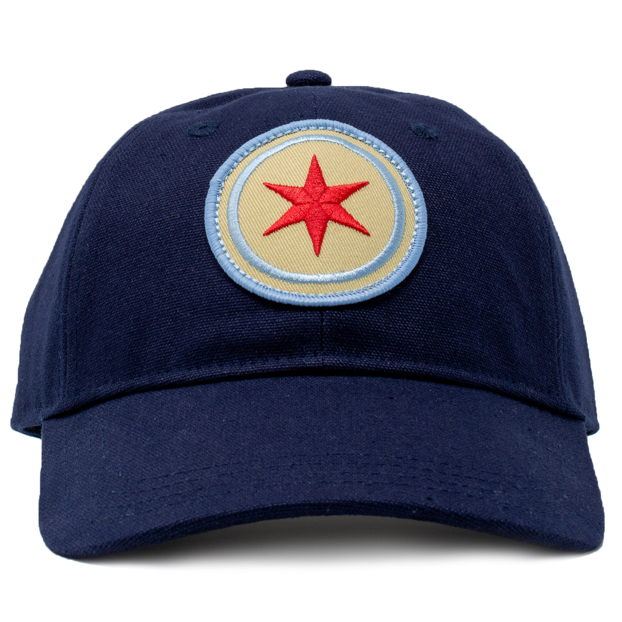 Chicago flag relaxed baseball hat