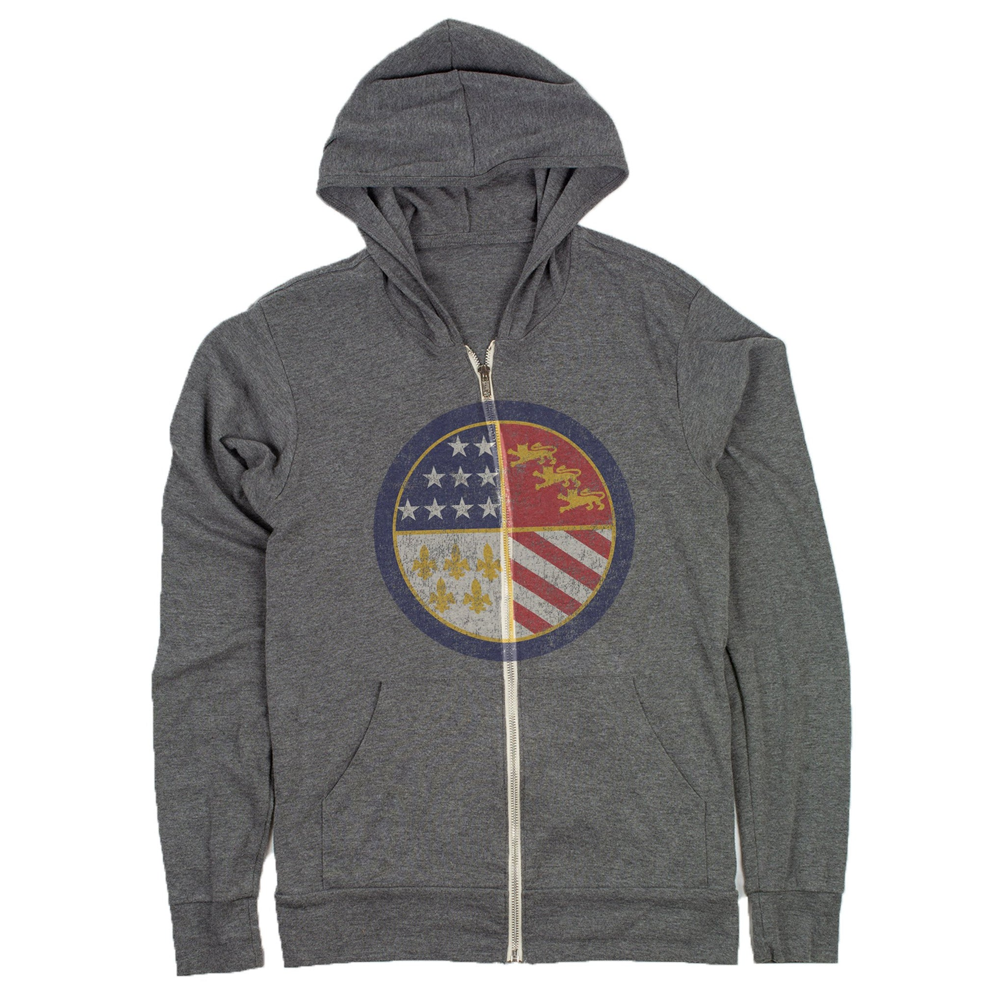 detroit michigan flag hoodie