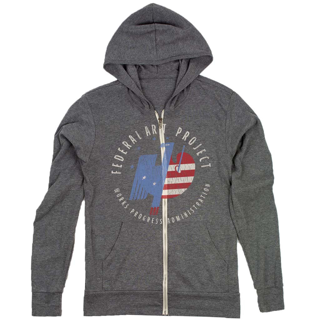 federal art project hoodie