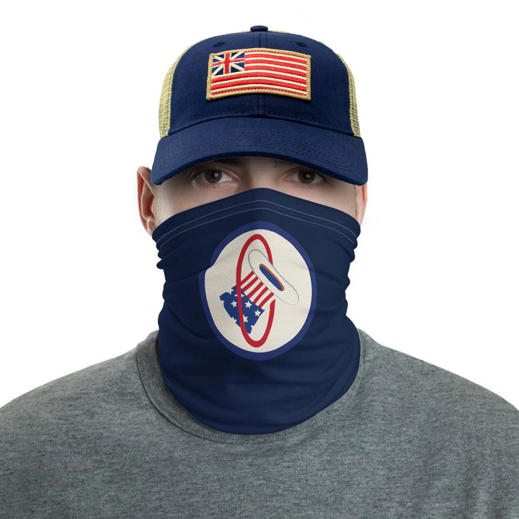 hat in the ring face mask gaiter