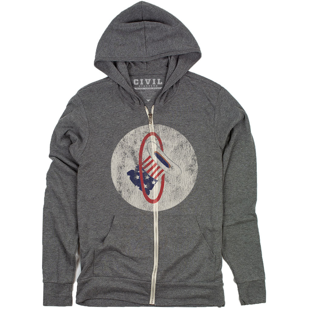 hat in the ring hoodie