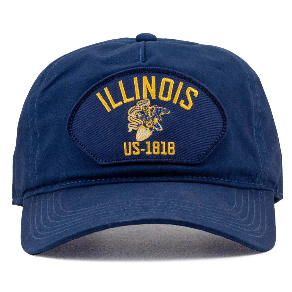 Illinois heritage patch cotton hat