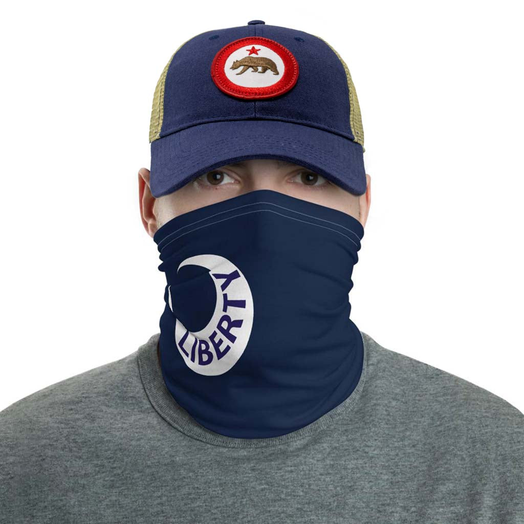 Liberty Moultrie Flag South Carolina Face Mask