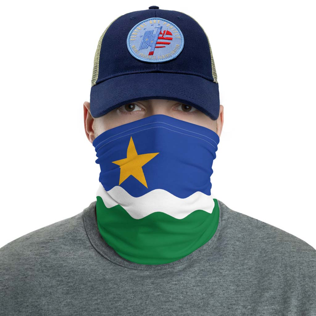minnesota north star Flag Face Mask gaiter