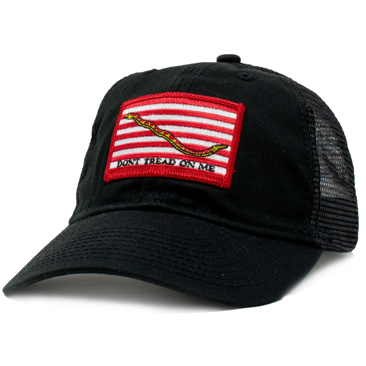 US Navy Jack, Don't Tread on Me Flag Patch Hat
