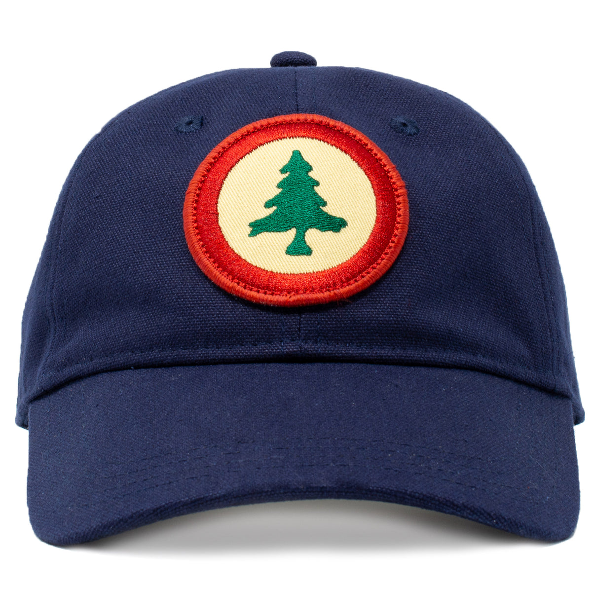 New England Pine Tree Flag Hat