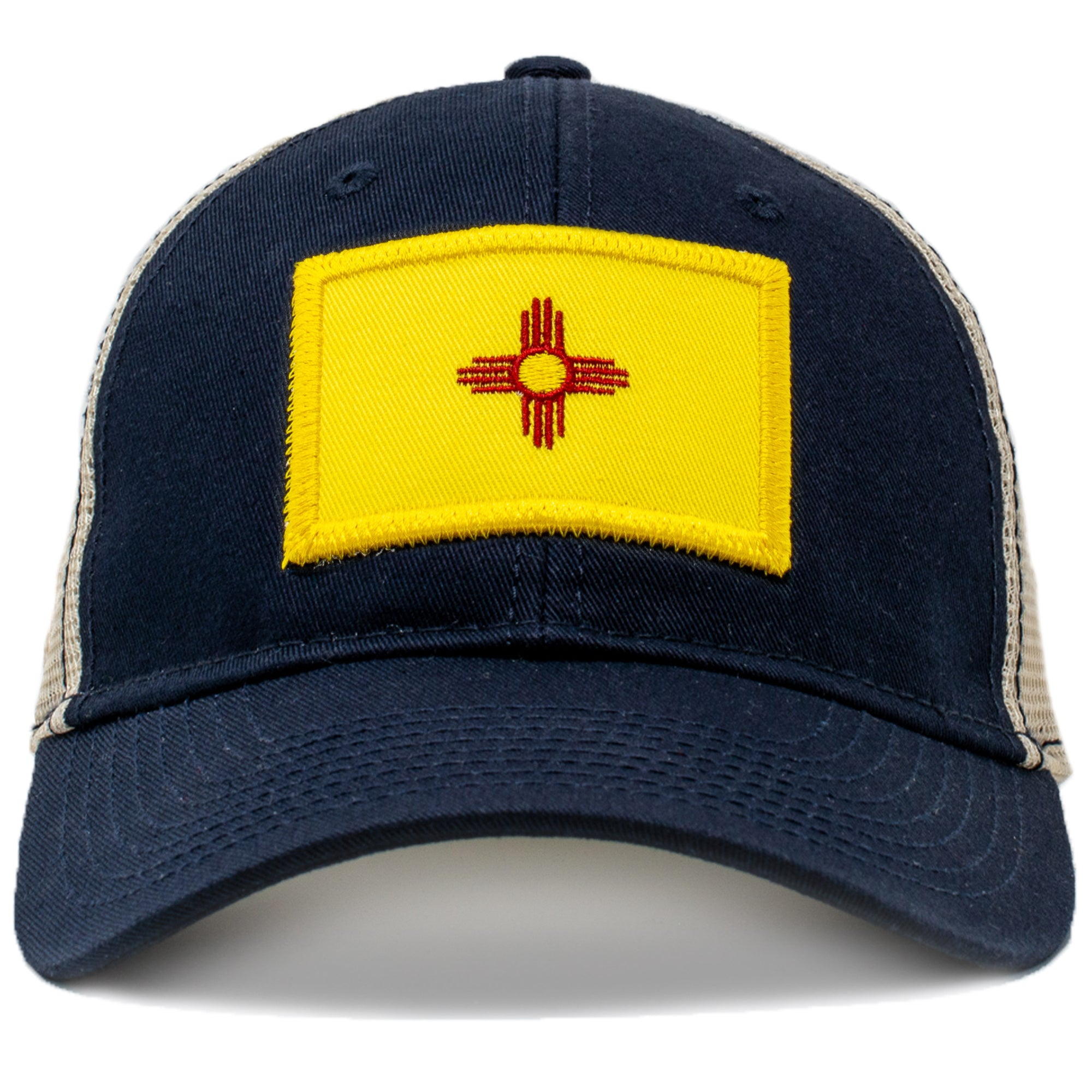 Vintage New Mexico flag hat