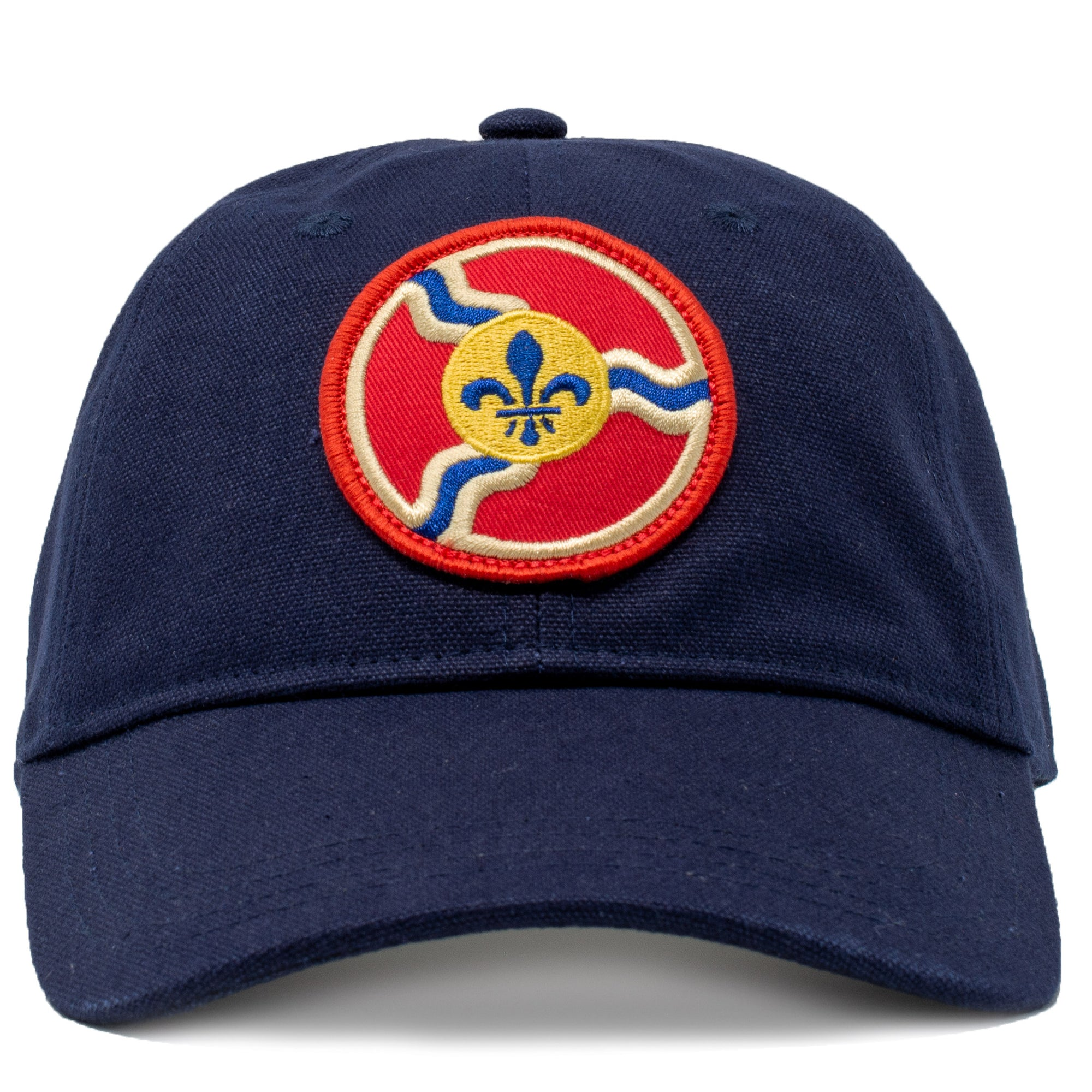 St. Louis Flag Vintage Relaxed Hat