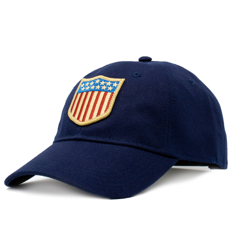 U.S.A. Olympic Shield Patch Hat