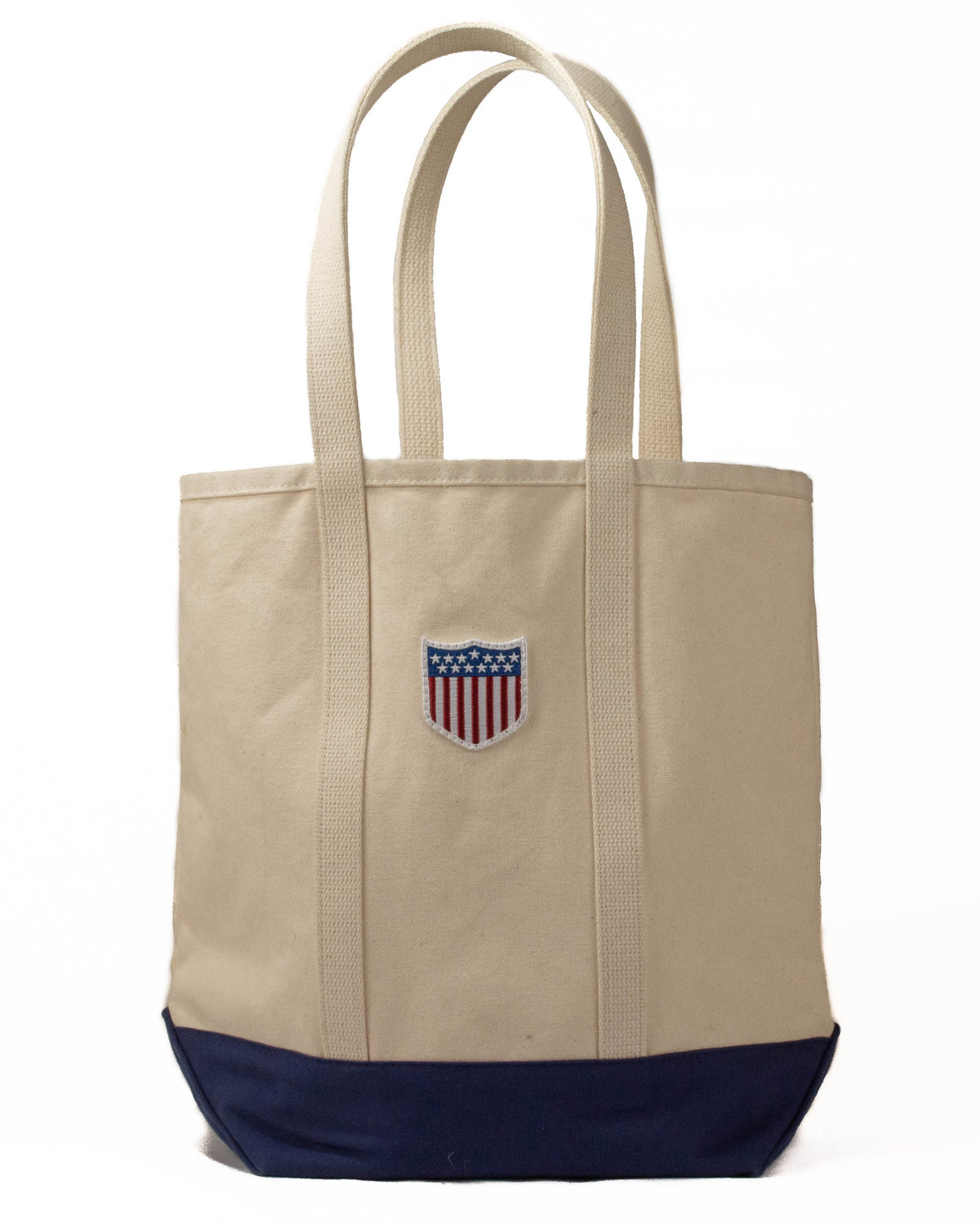 USA Olympic Flag patch Tote Bag