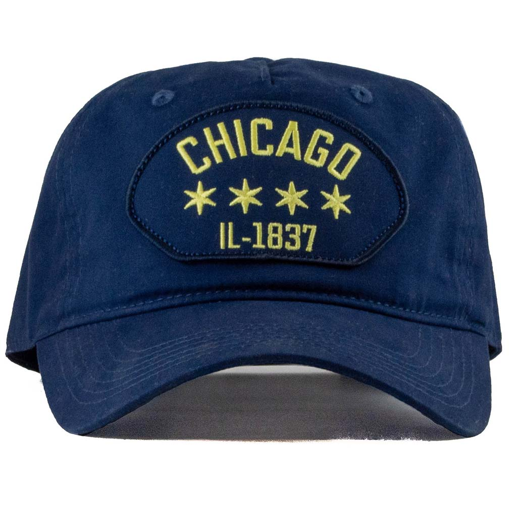 chicago heritage patch cotton hat
