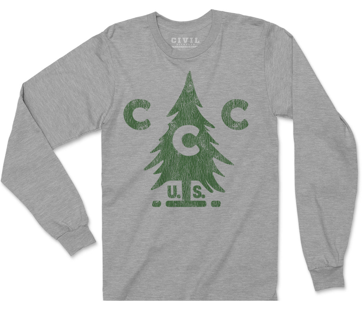 civilian conservation corps long sleeve tee