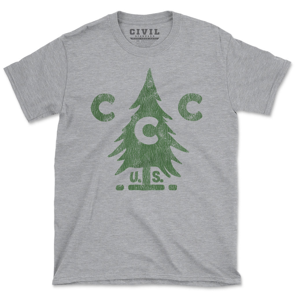 Soft and lightweight vintage Civilian Conservation Corps tshirt