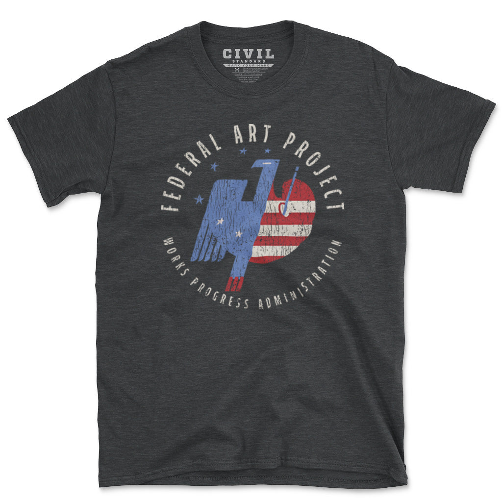 vintage federal art project shirt
