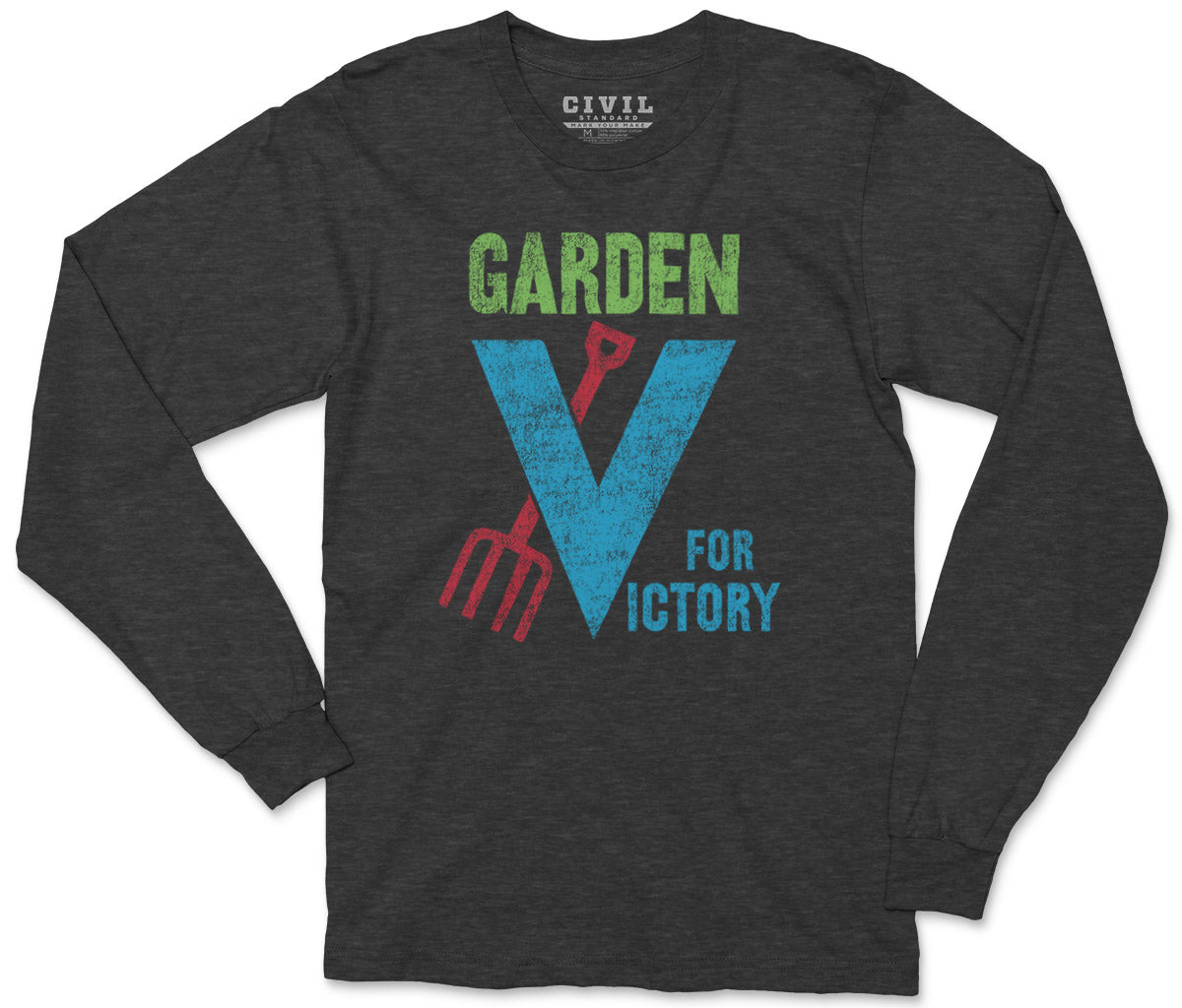 garden for victory long sleeve shirt